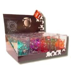 Acryl dice multi-sided,7 models