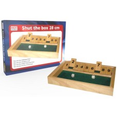 Shut the box dice game small 28x20x3 cm.