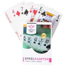 Playing cards LONGFIELD plasti.sing.p.10
