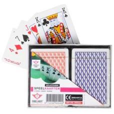 Speelkaarten-Set Dubbel cass.geplastif. VE6