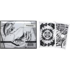 Playing Cards set Escher Left&Right double