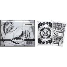 SpeelkaartenSET Escher Left&Right dubbel * levertijd onbekend *