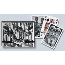 SpeelkaartenSET Escher Up&Down dubbel