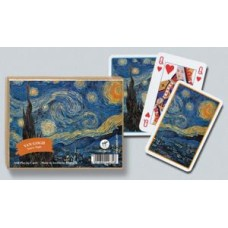 Playing cards Van Gogh Starry Night