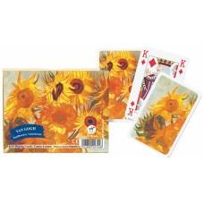Speel-kaarten-Set Van Gogh Sunflowers