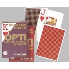 Pokercards OPTI large index Piatnik