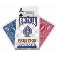 Pokerkaarten Prestige 100% Plastic Bicycle - VE 12