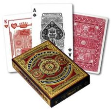 Poker cards High Victorian Red Premium