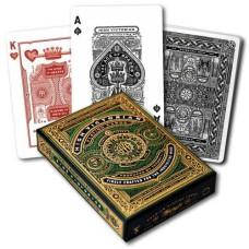 Poker cards High Victorian Green Premium