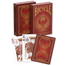 Poker cards Bicycle, Fyrebird Deck