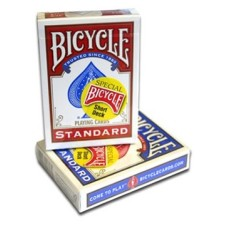 Bicycle goochel/Magic Card.Rood Short Deck