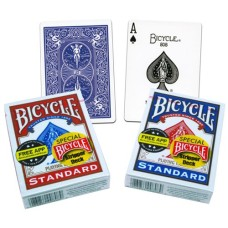 Bicycle Magic Cards Stripper Deck Red/Blue