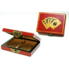 Case China with 2 deks Poker playingcards * delivery time unknown *