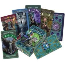 Tarot cards Anne Stokes Legends,Fournier