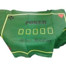 Pokerkleed Texas Hold'em gr.vilt 180x90cm