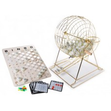 Bingo set XL metal 50 cm. Board+75 TT-balls