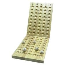 Lotto Wooden control board 90 balls 25 mm.