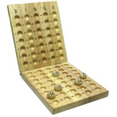Bingo controlboard wood for 75 balls 25 mm.
