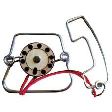 Metalen geduld puzzel Telefoon Constanti