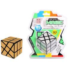 IQ puzzle magic 9 x 6 x 6 gold/silver cube, HOT