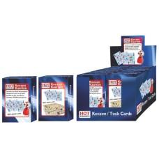 Keezen kaarten - 100 % plastic, HOT-Games