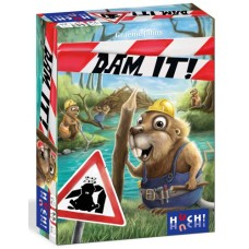 Dam It ! Bever- Kaartspel NL/FR/EN/DE  Huch