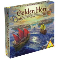 Golden Horn -boardgame,Leo Colovini.Piatnik D/NL