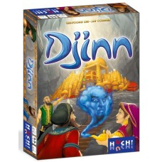 Djinn - Huch!, Kaartspel NL/ FR/ D/ EN