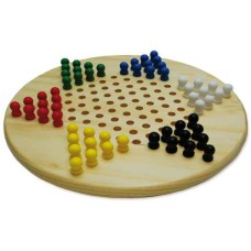 Chinese Checkers 28 cm.wood+pegs