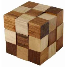 IQ Patience game - Cube Snake