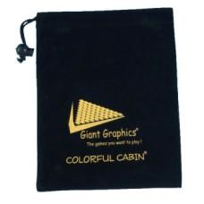 Bewaartasje voor spellen/ Colorful Cabin * uit assortiment, beperkt voorradig *