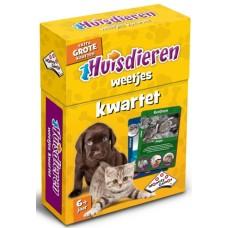 Huisdieren Kwartet Spel - Identity Games NL