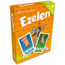 Donkey Cardgame in box, Identity Games NL