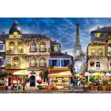 Wooden puzzle Breakfast in Paris L 300