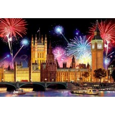 Wooden puzzle London by Night L 300