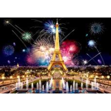 Wooden puzzle Paris by Night L 300