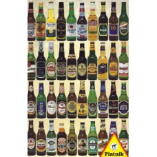 Puzzle Beer bottles 1000 pcs.Piatnik 562549