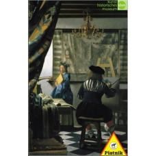 Puzzle Vermeer,Art of painting 1000 p.Piatnik