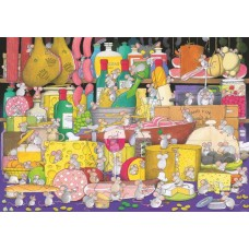 Puzzle Mice Party 1000 pcs.Piatnik 549946