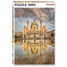 Puzzle St.Charles Church Vienna 1000 pcs