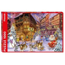Puzzle Christmas Village, Comic 1000 p. Piatnik