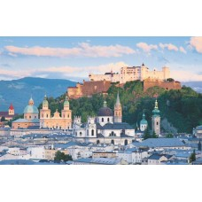 Puzzel Salzburg 1000 stuks Piatnik 564543 * levetijd onbekend *