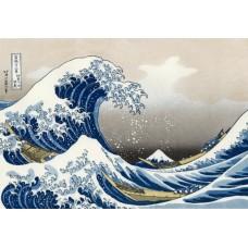 Puzzel Big Wave Hokusai 1000 st Piatnik * verwacht week 26/27, herdruk *