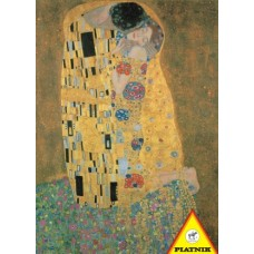 Puzzel De Kus, Klimt,1000 stukjes Piatnik