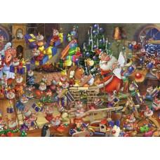 Puzzel Kerstdrukte,1000 stukjes Comic Piatnik