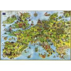Puzzle United Dragons 4000 Tri.Heye 08854