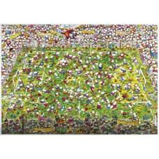 Puzzle Crazy World Cup,4000 Tri.Heye 2907