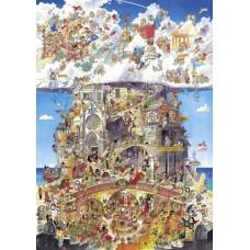 Puzzel Heaven & Hell 1500 3 hkg.Heye 29118