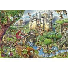 Puzzel Fairy Tales,Crisp 1500 3hk.Heye 29414