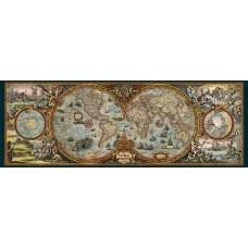 Puzzel Hemisphere Map 6000 Pan.Heye 29615